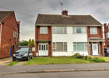 Thumbnail 3 bed semi-detached house for sale in Castle Drive, Northborough, Peterborough