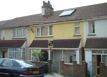 Thumbnail 4 bed terraced house to rent in Student House - Dudley Road, Brighton