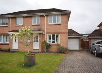 Thumbnail 3 bed semi-detached house for sale in Woodburn Avenue, Redding, Falkirk