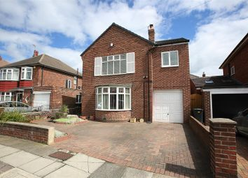 Thumbnail 4 bed detached house for sale in Otterburn Road, North Shields