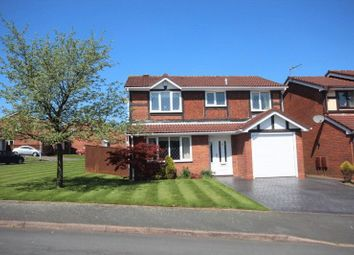 Thumbnail 4 bed detached house to rent in Hatherton Close, Newcastle-Under-Lyme