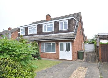 Thumbnail 3 bed semi-detached house for sale in Exmoor Close, Heswall, Wirral