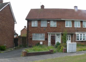 Thumbnail 3 bedroom end terrace house to rent in Meadway, Stechford, Birmingham