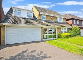 Thumbnail 4 bed detached house to rent in Wakerfield Close, Hornchurch