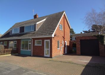 Thumbnail 3 bed semi-detached house for sale in Ash Tree Close, Ruskington, Sleaford
