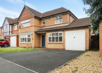 Thumbnail 4 bed detached house for sale in Daurada Drive, Meadowcroft Park, Stafford