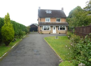Thumbnail 3 bed detached house for sale in Yarnfield Lane, Stone
