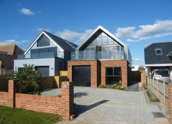 Thumbnail 4 bed detached house for sale in Marine Drive, West Wittering