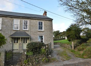 Thumbnail 3 bed semi-detached house for sale in Tregavarah, Penzance, Cornwall
