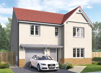 "Thumbnail 4 bed detached house for sale in ""The Overbury"" at Aurs Road, Barrhead, Glasgow"
