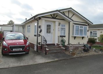 Thumbnail 2 bed mobile/park home for sale in Ashdale Park, London Road (Ref 5732), Brandon, Suffolk