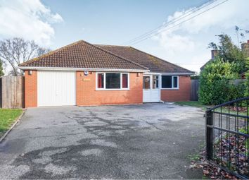 Thumbnail 3 bed detached bungalow for sale in Brigg Road, Moortown, Market Rasen