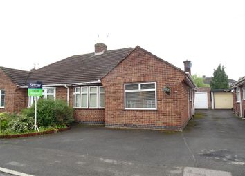 Thumbnail 2 bed semi-detached bungalow for sale in Radnor Drive, Shepshed, Loughborough