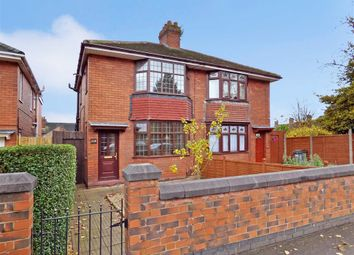 Thumbnail 2 bedroom semi-detached house for sale in Lightwood Road, Lightwood, Longton, Stoke-On-Trent
