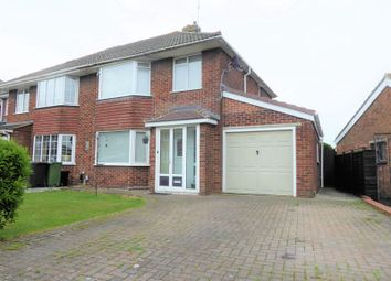 Thumbnail 3 bed semi-detached house for sale in Birchwood Road, Stratton St. Margaret, Swindon
