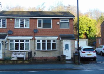 Thumbnail 3 bed semi-detached house for sale in 413 Huddersfield Road, Waterhead, Oldham