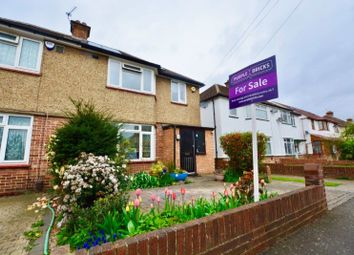 Thumbnail 3 bed semi-detached house for sale in Edward Road, Feltham