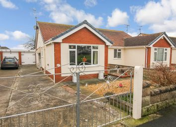 Thumbnail 2 bed semi-detached bungalow for sale in Victoria Road West, Prestatyn