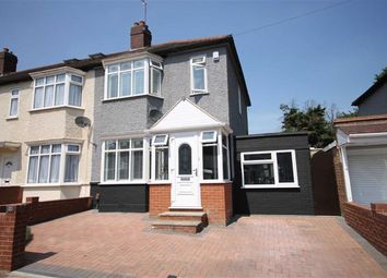 Thumbnail 2 bed end terrace house for sale in Sherwood Road, Ilford, Essex