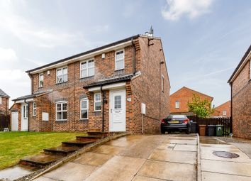 Thumbnail 3 bed semi-detached house for sale in Badminton View, Leeds