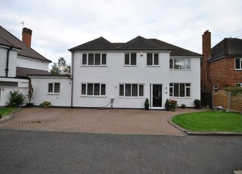 Thumbnail 5 bed detached house for sale in Tanworth Lane, Shirley, Solihull