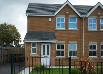 Thumbnail 3 bed semi-detached house to rent in Station Road, Haydock, St. Helens