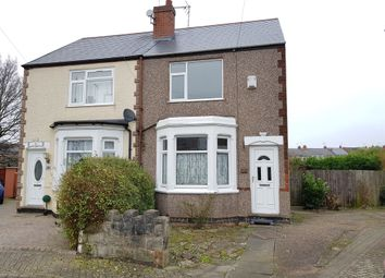 Thumbnail 2 bed semi-detached house for sale in Stubbs Grove, Coventry