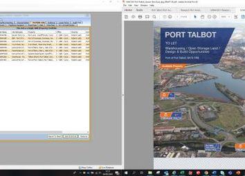 Thumbnail Industrial to let in Mountain View, Menai Avenue, Cymmer, Port Talbot