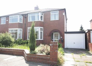Thumbnail 3 bedroom semi-detached house to rent in Booths Hall Grove, Worsley, Manchester
