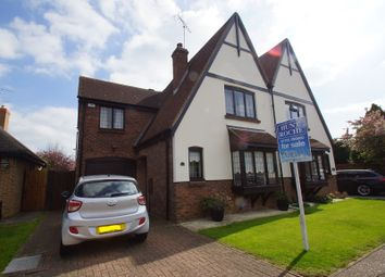 Thumbnail 4 bed semi-detached house for sale in Wambrook, Shoeburyness, Southend-On-Sea