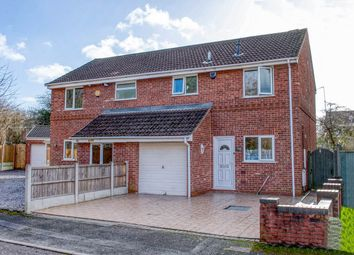 Thumbnail 3 bed semi-detached house for sale in Abbotswood Close, Winyates Green, Redditch