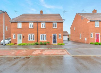 Thumbnail 3 bed semi-detached house for sale in Drayhorse Crescent, Woburn Sands, Milton Keynes