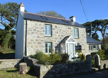 Thumbnail 3 bed detached house for sale in Tresowes Hill, Ashton, Helston, Cornwall