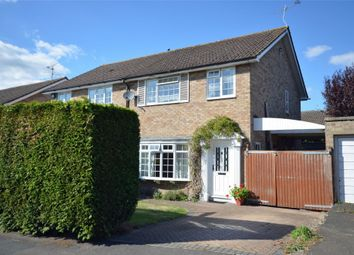 Thumbnail 3 bed semi-detached house for sale in Garrick Way, Frimley Green, Camberley, Surrey