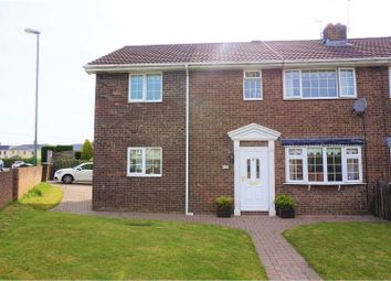 Thumbnail 4 bed semi-detached house for sale in Caernarvon Place, Blackwood