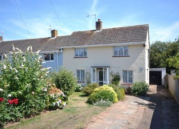 Thumbnail 2 bed end terrace house for sale in Dukes Road, Budleigh Salterton, Devon