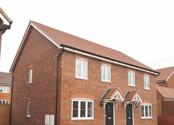 Thumbnail 3 bed semi-detached house for sale in Haughton Road, Shifnal