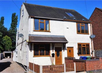 Thumbnail 2 bed semi-detached house for sale in Walsall Road, Cannock