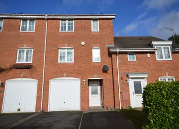 Thumbnail 4 bed terraced house for sale in Holborn Crescent, Priorslee, Telford, Shropshire.
