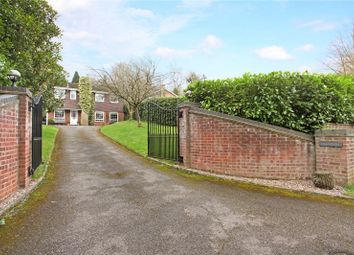 Thumbnail 4 bed detached house for sale in St. Leonards Hill, Windsor, Berkshire