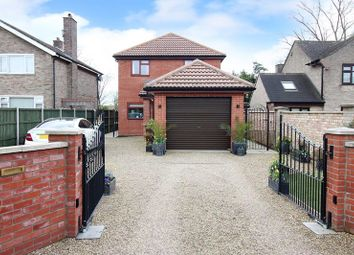Thumbnail 4 bed detached house for sale in Station Road, Cantley, Norwich