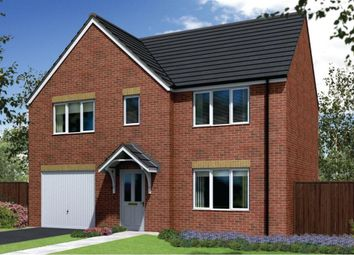 "Thumbnail 4 bed detached house for sale in ""The Winster"" at Lyne Hill Lane, Penkridge, Stafford"