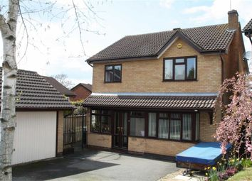 Thumbnail 4 bed detached house for sale in Granary Close, Glenfield, Leicester