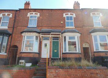 Thumbnail 2 bedroom terraced house for sale in Ashley Road, Erdington, Birmingham
