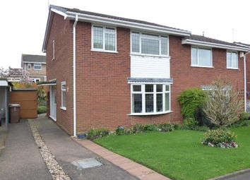 Thumbnail 3 bed property for sale in Heronswood, Wildwood, Stafford
