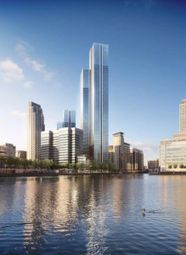 Thumbnail 3 bedroom flat for sale in South Quay Plaza, London