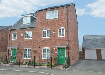 Thumbnail 4 bed semi-detached house for sale in Dragonfly Meadow, Pineham, Northamptonshire