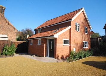 Thumbnail 3 bed detached house for sale in Norwich Road, Thetford