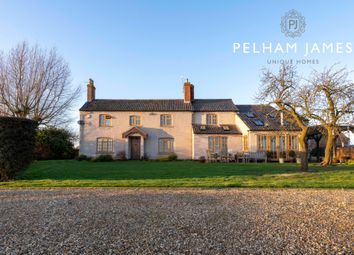 Thumbnail 5 bed detached house for sale in Swallow Hole Road, Saltby, Melton Mowbray