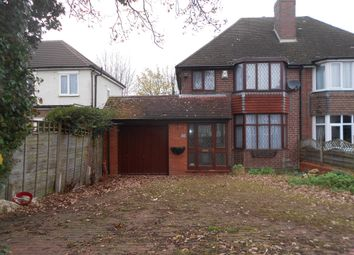 Thumbnail 3 bed semi-detached house to rent in Temple Avenue, Hall Green, Birmingham